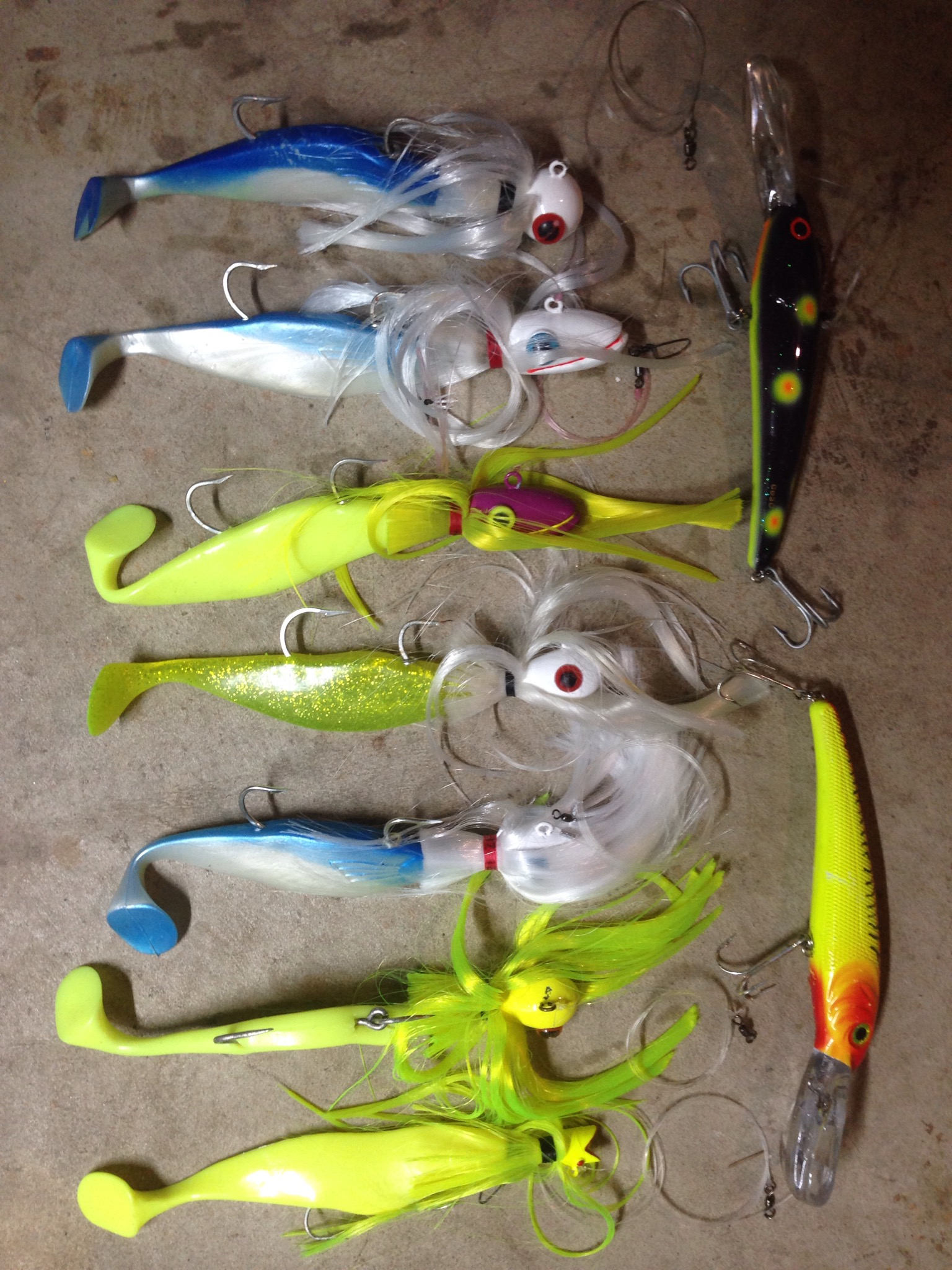 Tacklebox captainrickywheeler for Mojo fishing lures